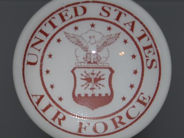 United States Air Force Military Cork Wine Oil Vinegar ASAF