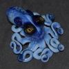 Octopus sculpture cephalopod squid aquarium fish aquatic ocean sea