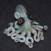 Octopus sculpture cephalopod squid aquarium fish aquatic ocean sea