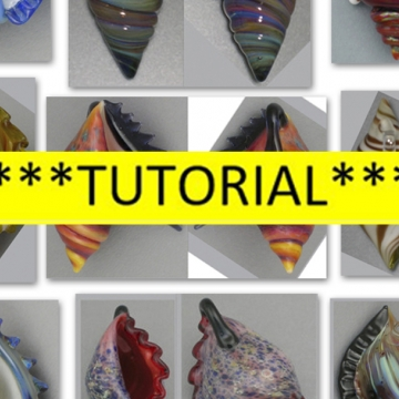 Glass Sea Shell Tutorial