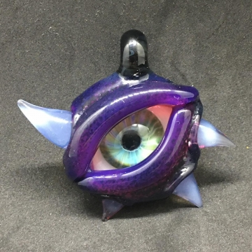 Eye Pendant with horns