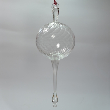 Clear Bulb ornament (single)