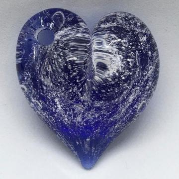 Heart Pendant Pierced