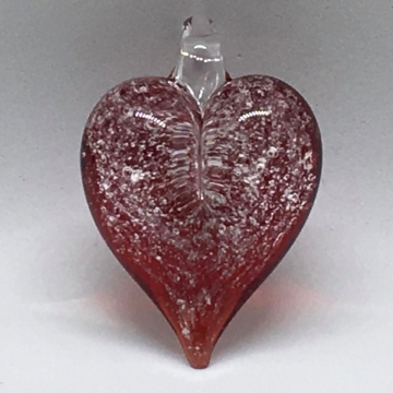 Heart Pendant with Loop