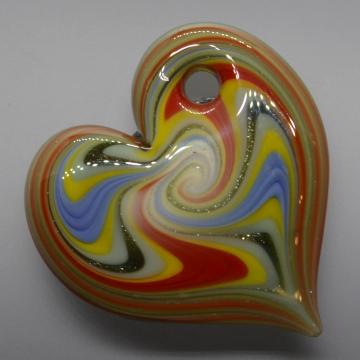 Toucan Heart Pendant