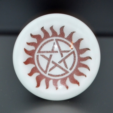 Pentacle Bottle Stopper