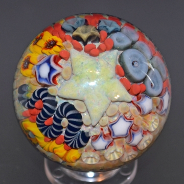 Sea Floral Marble
