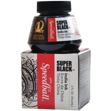 Speedball 2 oz Black India Ink
